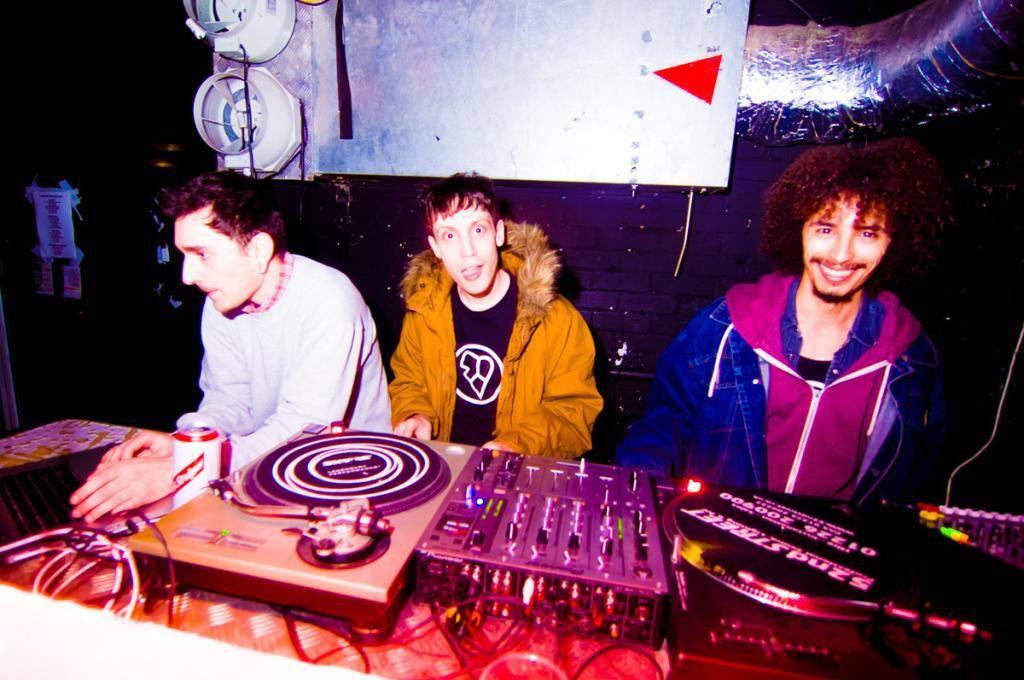 Henry, Sam & Keith Bangface Xmas Party 2014